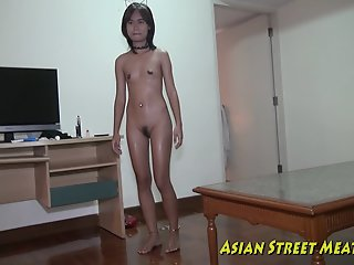 Asian Girlette Does Anal For..